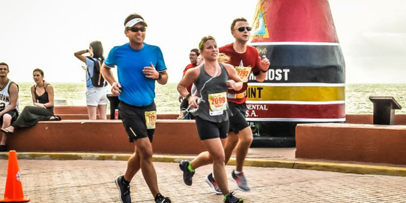 Runners in Key West, FL