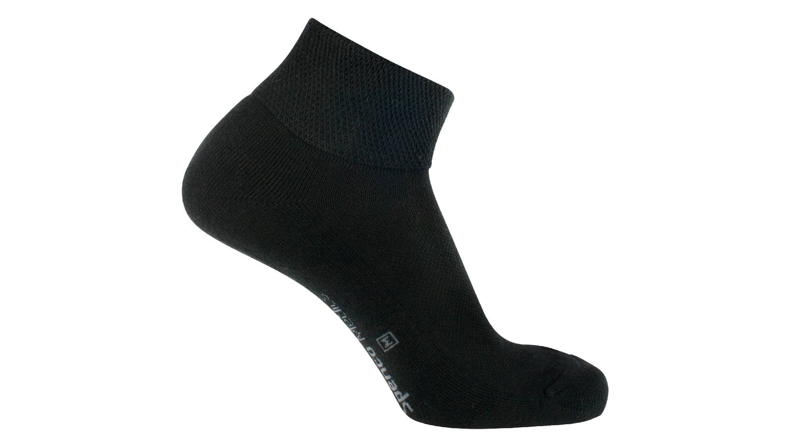 Spenco medics diabetic plus crew socks in black