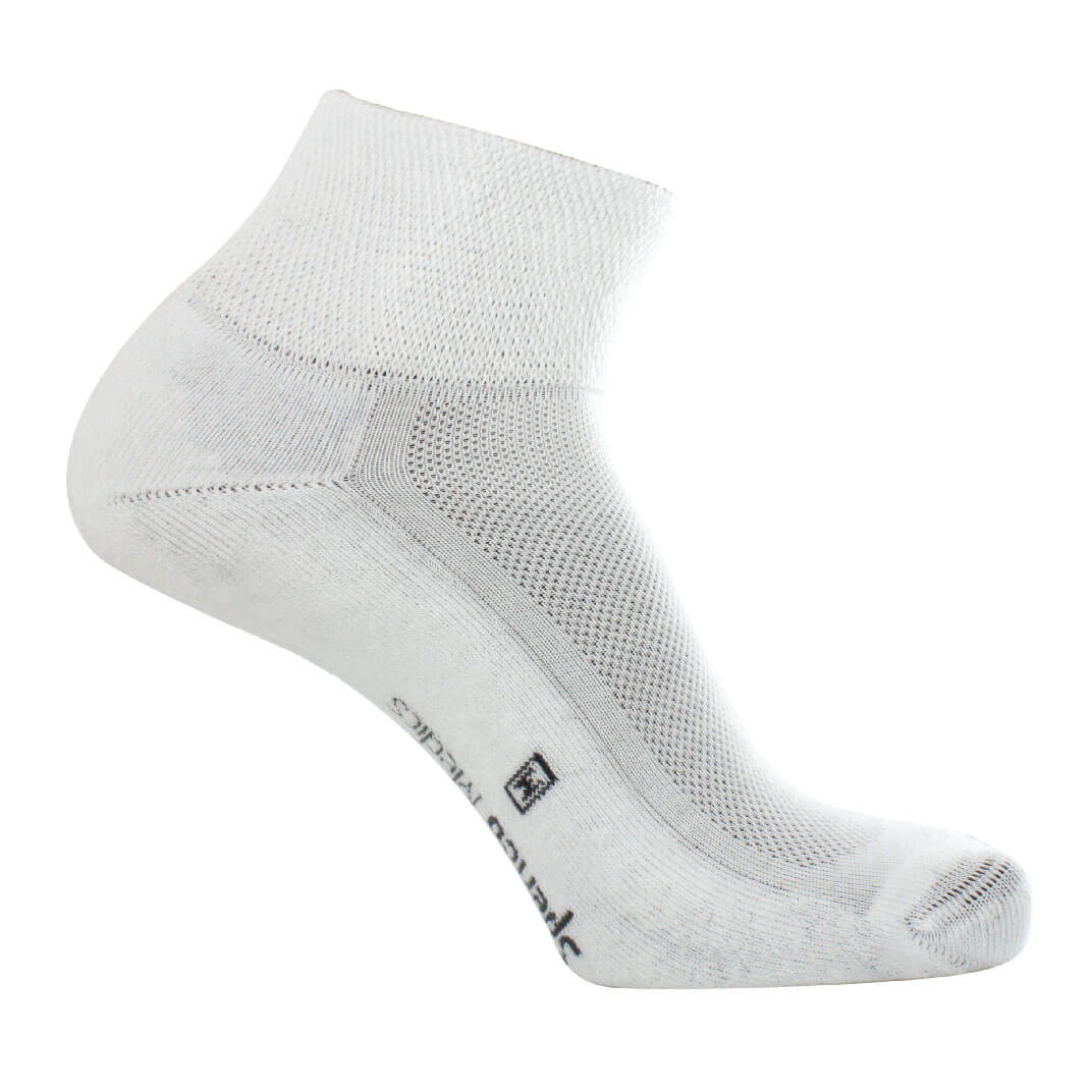 Spenco Medics® DIABETIC+ Soft Rib Quarter Sock