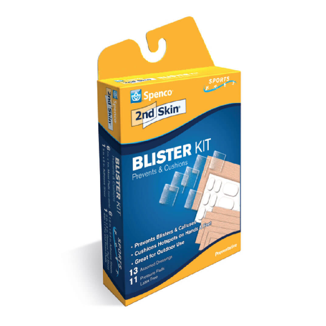Spenco 2nd skin blister kit in packaging